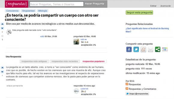 Alternativa para Yahoo Answers en español
