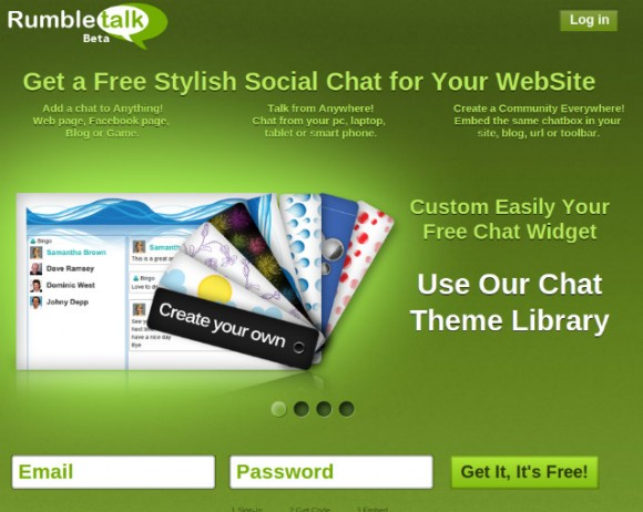 Añade un chat en tu sitio con Rumbletalk