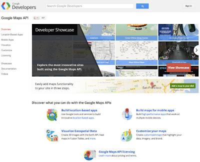 Google estrena web para la API de Google Maps