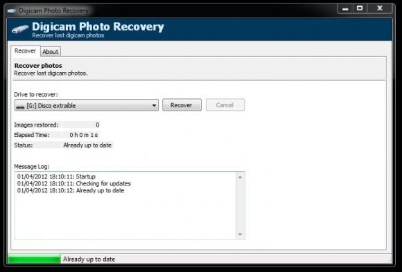 Digicam Photo Recovery: recupera imágenes eliminadas de tu cámara