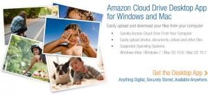 Amazon Cloud Drive presenta apps para Windows y Mac