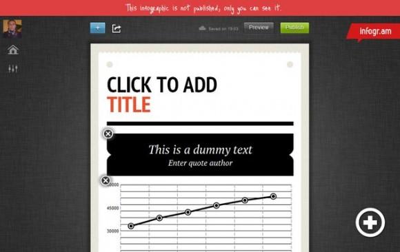 Infogr.am: infografías en línea gratuitas