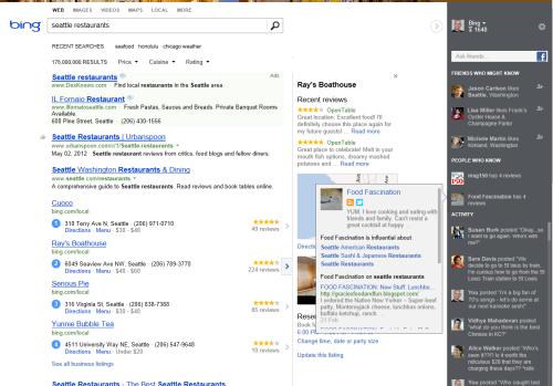 Bing: Nuevo rediseño