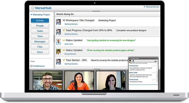 Versahub: Completa plataforma de trabajo colaborativo