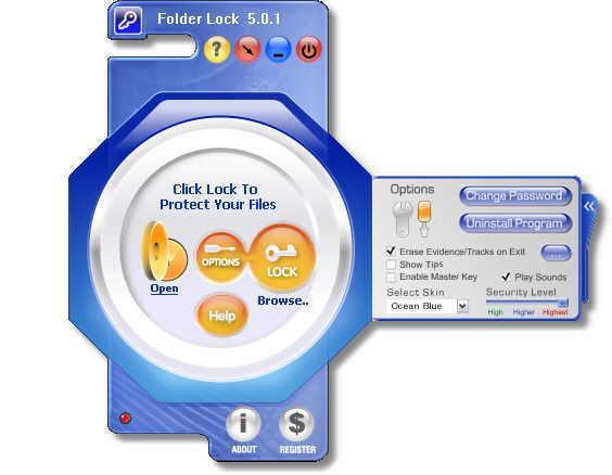 Oculta y protege archivos con Folder Lock