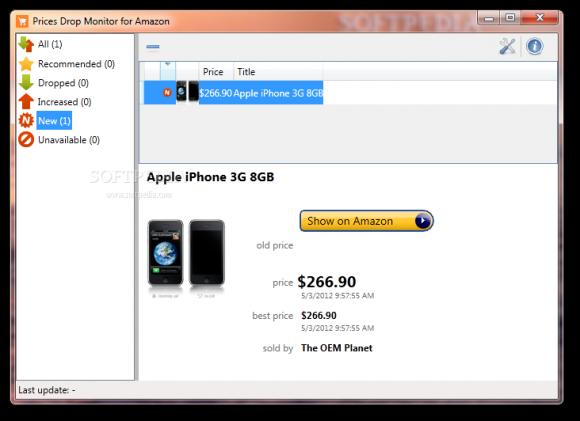 Monitoriza las rebajas y ofertas de Amazon con Prices Monitor