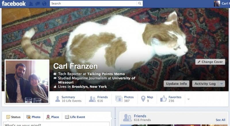 Facebook está probando un nuevo rediseño en el timeline
