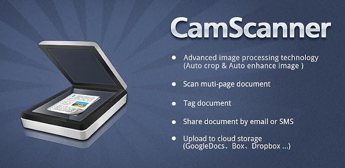 CamScanner: Usa tu teléfono Android como si fuera un escáner