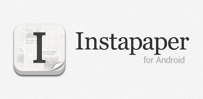 Disponible Instapaper para Android