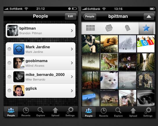 Sube tus imágenes del iPhone a Flickr con Flickit