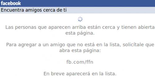 Facebook retira su herramienta para encontrar usuarios en nuestras cercanías