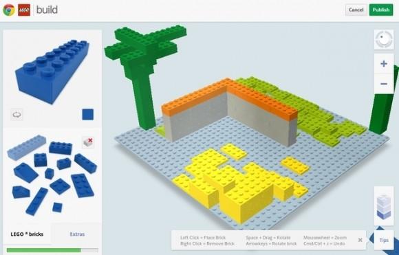 Construye LEGOS en 3D con LEGO Build para Chrome
