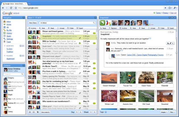 Google Wave: nueva plataforma de comunicación, colaboración y mucho más...