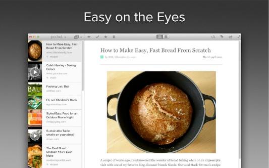 Guarda tus artículos para leerlos posteriormente con Pocket (Ahora para Mac)