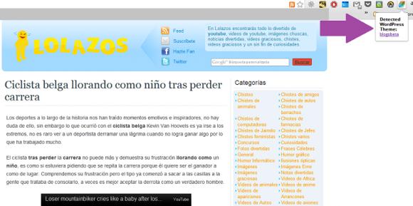 Theme Sniffer, descubre que tema utiliza un sitio web
