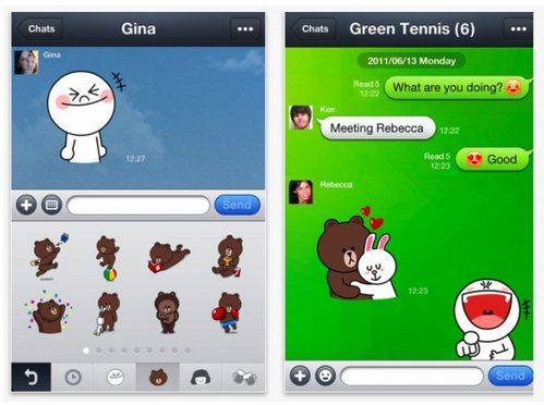 Interesante alternativa para WhatsApp llamada LINE