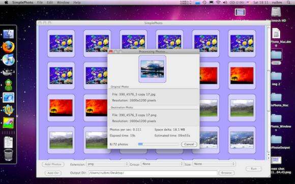 Edita imagen en Mac y Windows con Simple Photo