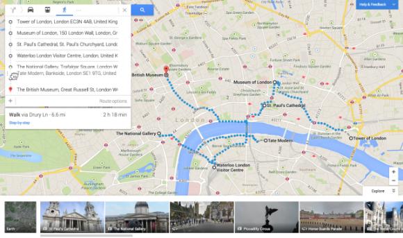 Google Maps incorpora nuevas funciones