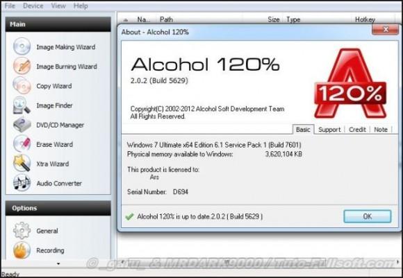 Alcohol 120% se renueva con soporte para Windows 8.1