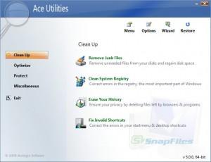 Ace Utilities, suite de herramientas para mejorar el funcionamiento del PC