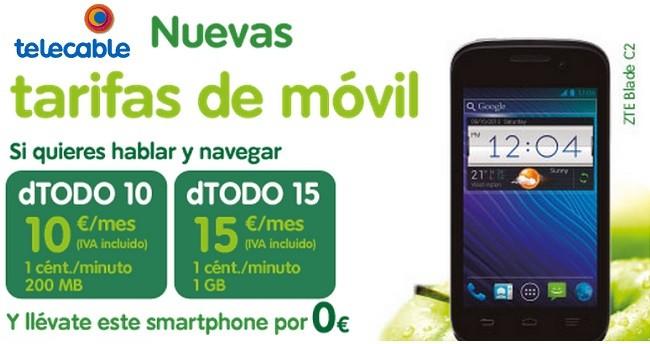Telecable lanza tarifas para los que menos consumen