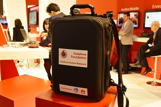 "MWC 2014 – Vodafone presenta una ""mini red móvil"" en una mochila"