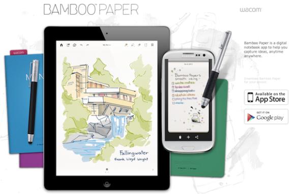 Bamboo Paper, la aplicación que eleva la experiencia de tomar nota