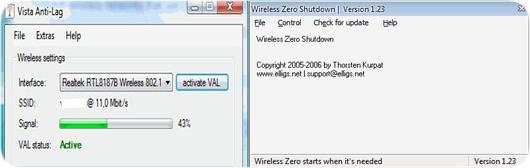 Repara el ?lag? del WiFi en Vista y XP