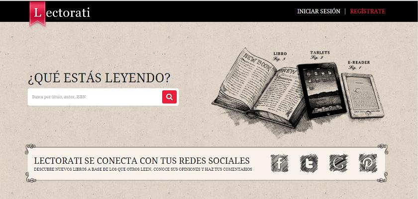 Lectorati: una plataforma para socializar tus lecturas y descubrir más libros