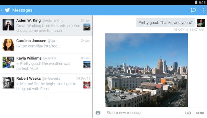 Twitter prueba en su versión para Android la opción de insertar los tuits de otros en tus tuits