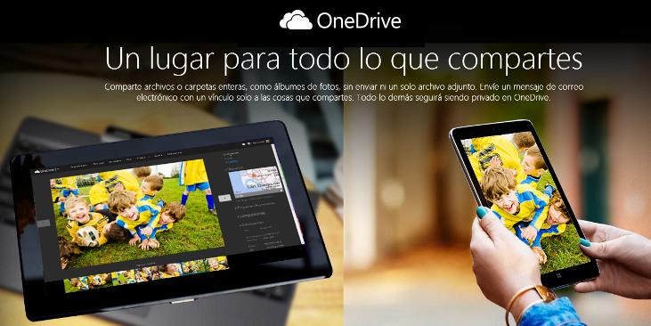 Microsoft ahora ofrece 15 GB gratuitos para OneDrive y 1 TB para los suscriptores de Office 365