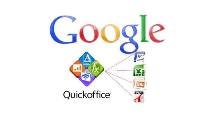 Las funciones de Quickoffice quedarán integradas en Docs, Sheets y Slides