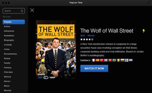 "Popcorn Time. ¿Utilizarías esta ""alternativa"" a Netflix?"