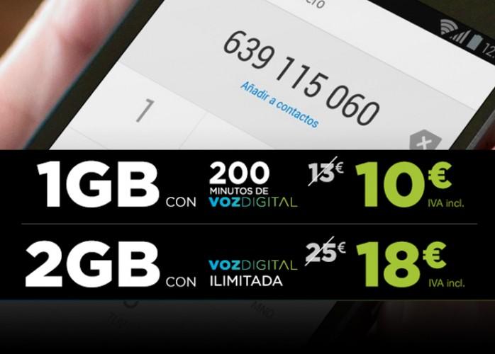Tuenti Móvil rebaja sus tarifas Voz Digital para contrataciones de agosto