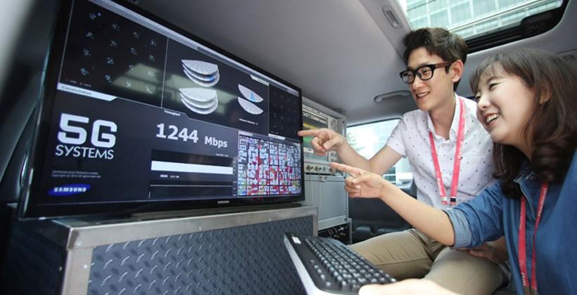 El 5G de Samsung alcanza velocidades de 7.5 Gbps en las primeras pruebas