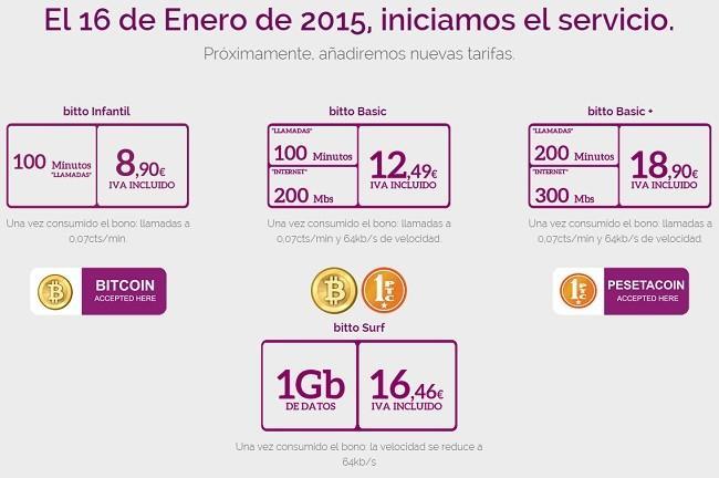 Bitto Mobile, nueva OMV que acepta pagos con monedas virtuales