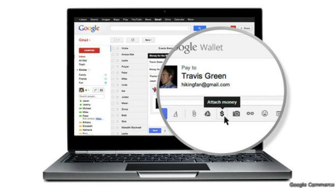 Enviar dinero a través de Gmail