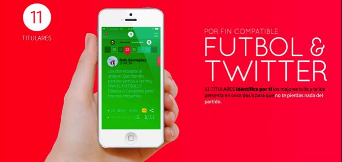 11 Titulares, la aplicación para los fanáticos del fútbol