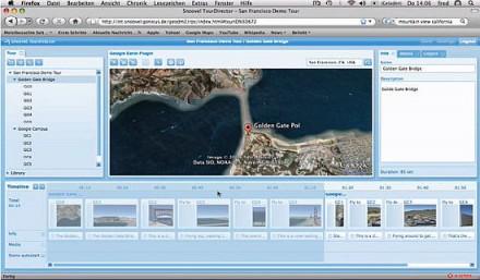 snoovel.com - viajes guiados utilizando Google Earth