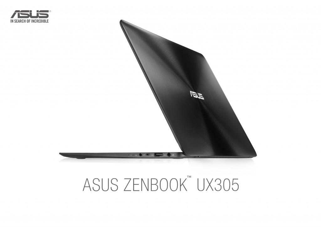 ASUS presenta en sociedad el nuevo ZenBook   UX305, última generación en portátiles
