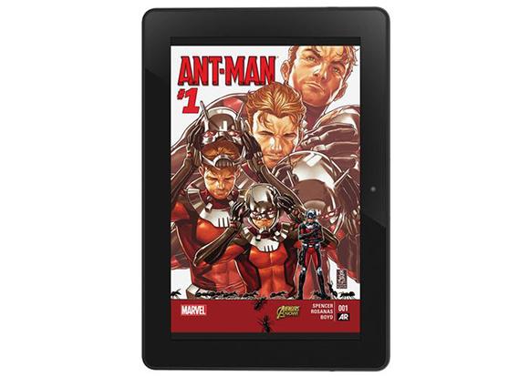 Ahora tendrás a los héroes de Marvel en tu Kindle