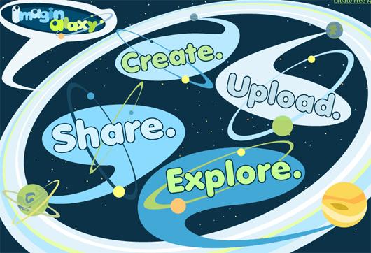 Comparte imágenes con Imaginalaxy