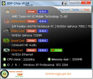 3DP Chip: Actualización rápida de drivers