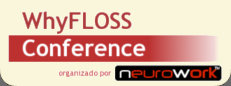 WhyFLOSS Conference, Madrid 2009