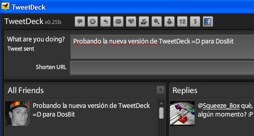 TweetDeck y su nueva versión 0.25