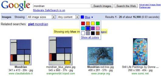 Agregan funciones a Google Images