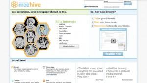MeeHive: periódico personalizado