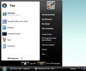 3 temas basados en la apariencia de Windows Vista para Windows XP