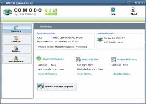 Comodo System Cleaner, aumenta la velocidad de Windows XP y Vista