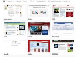 Crear un 'portfolio' con filtro de categorías basado en jQuery